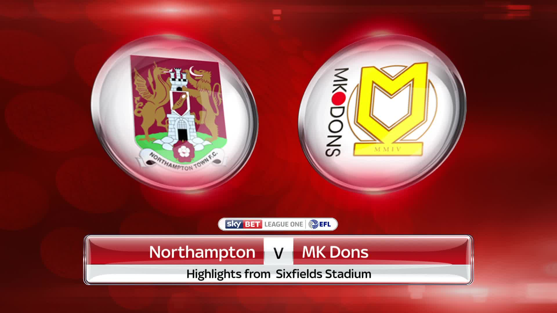 Northampton vs MK Dons Prediction
