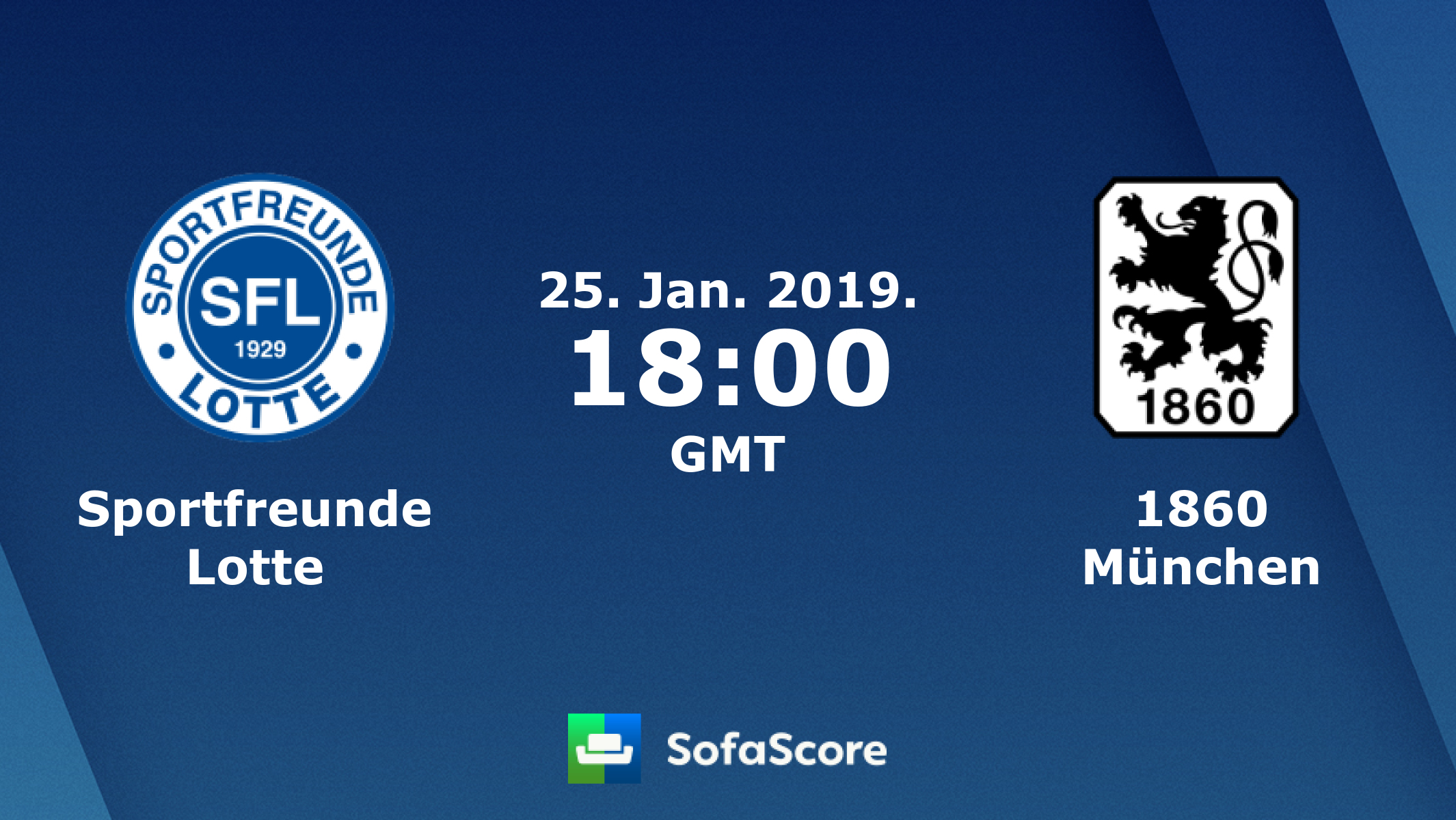 Sportfreunde Lotte vs 1860 Munich Prediction