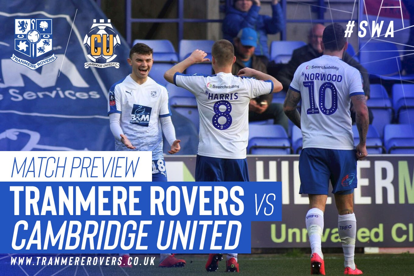 Cambridge Utd vs Tranmere Prediction H2H SportPesa Mega Jackpot Prediction This Weekend